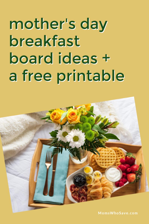 mothers day breakfast boards