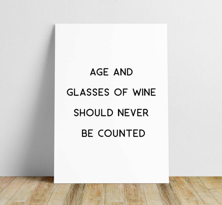 age and wine printable