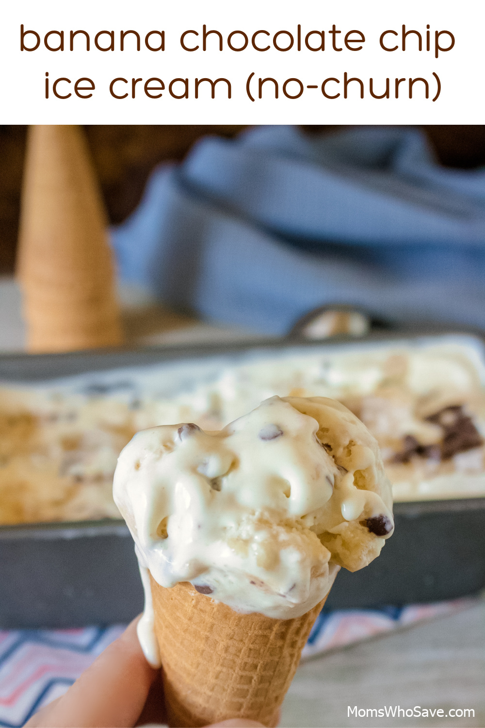 banana chocolate chip ice cream