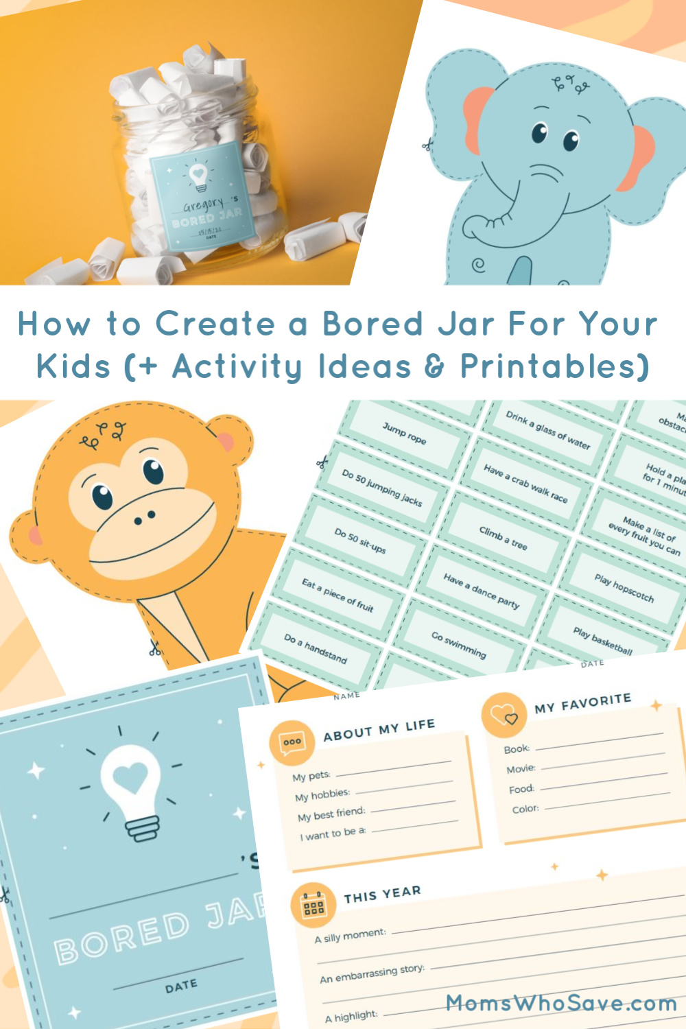 How To Create A Bored Jar For Your Kids Activity Ideas Printables Momswhosave Com