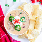 ground beef queso dip