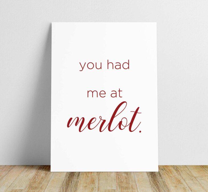 merlot printable