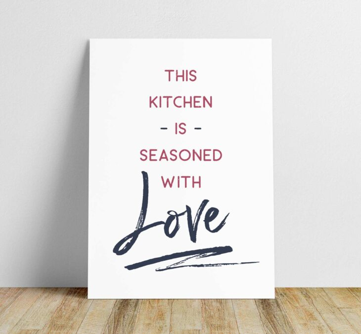 love kitchen printable