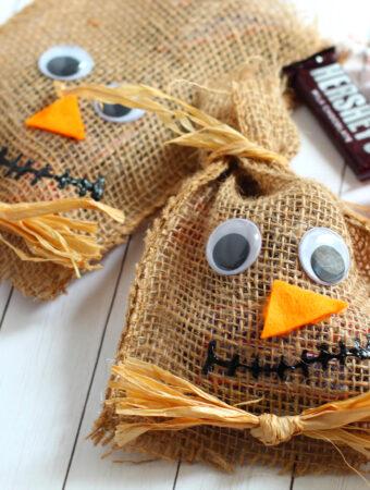 scarecrow halloween bags