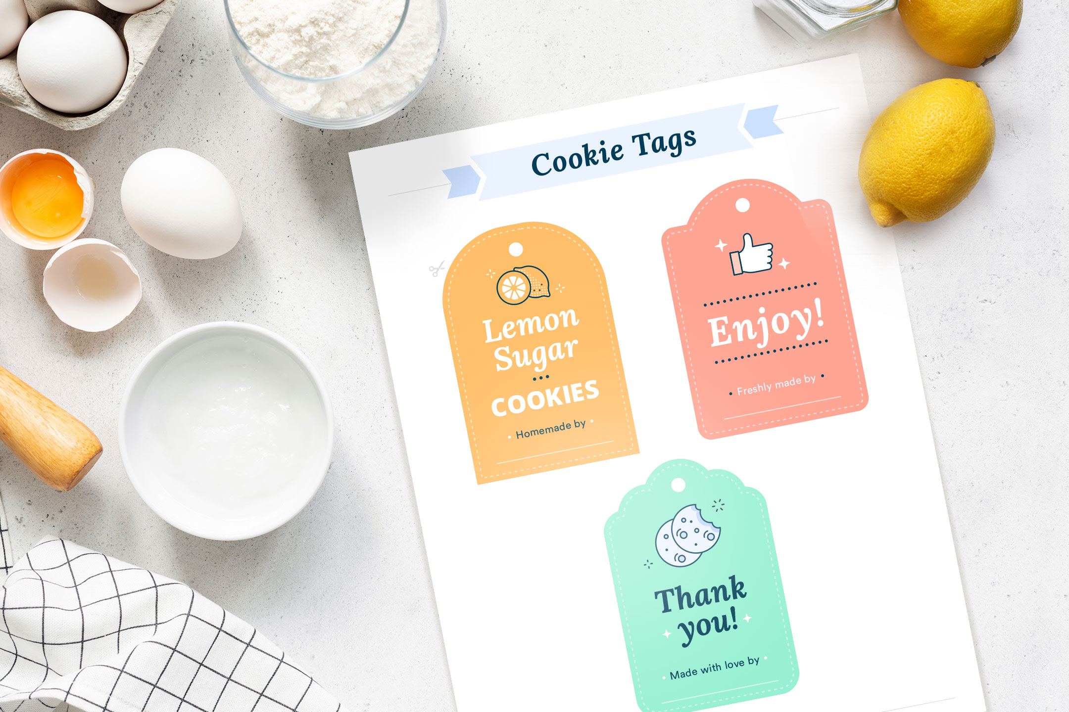 Cookie tags