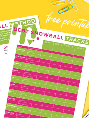 Debt Snowball Printable