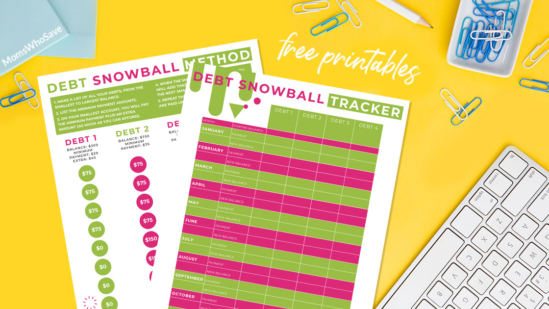 Debt Snowball Printable