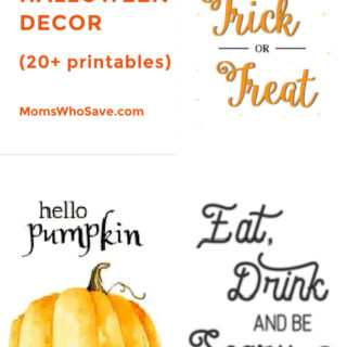 Printable Halloween Decorations