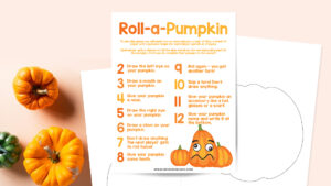 Pumpkin game printable
