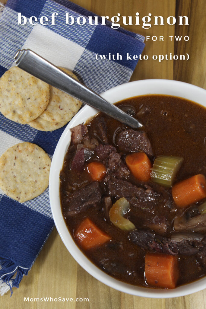 BEEF BOURGUIGNON for two
