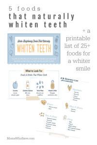 foods whiten teeth