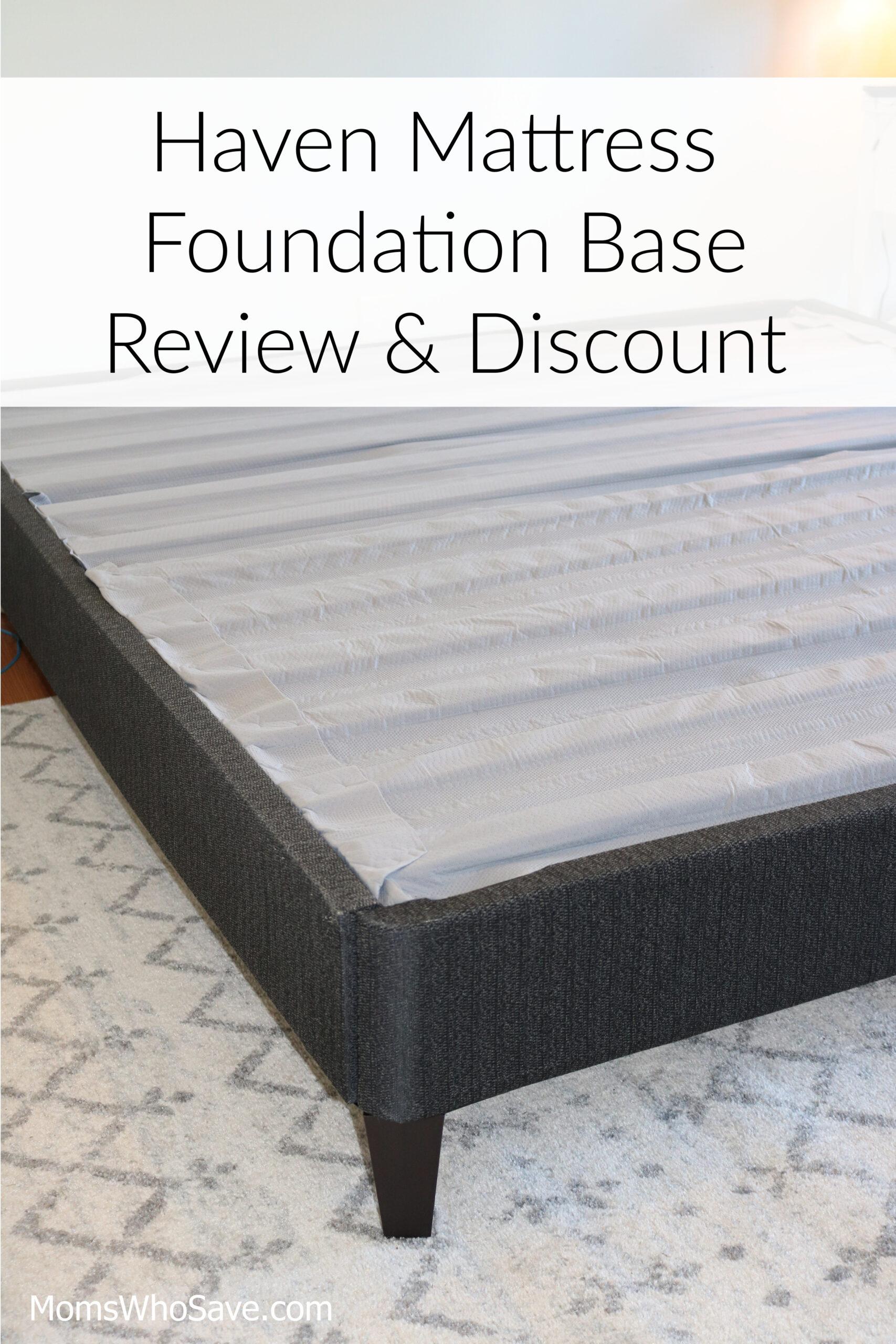 Mattress Foundation Base