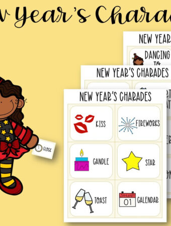 Charades for kids printable