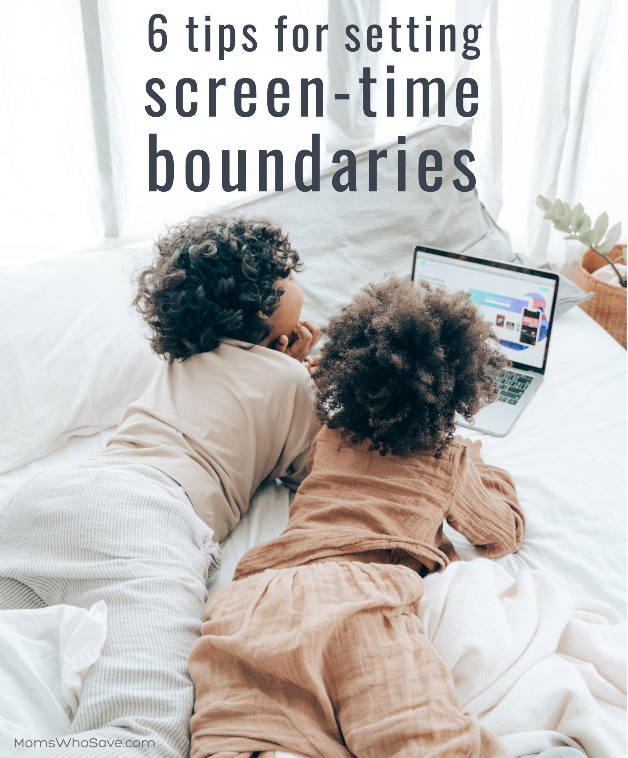 screen time boundaries
