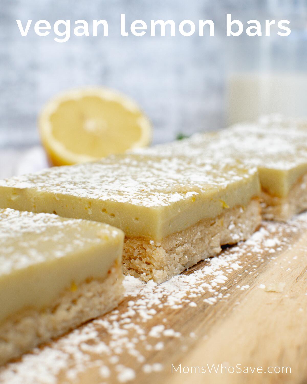 Dairy-Free Lemon Bars