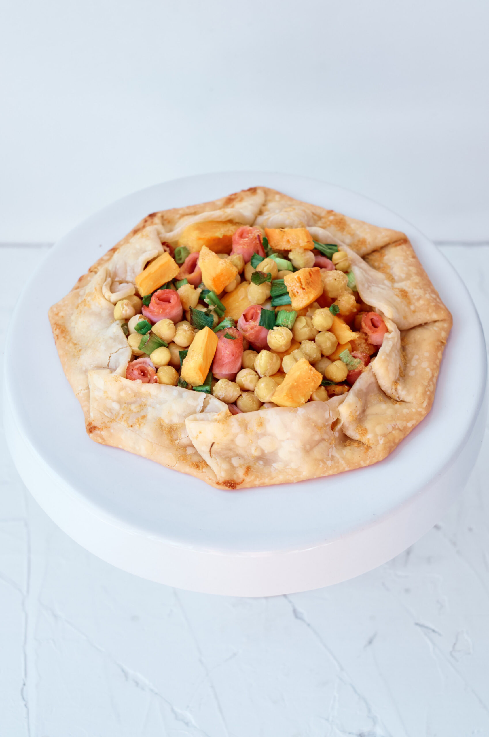 chickpea galette