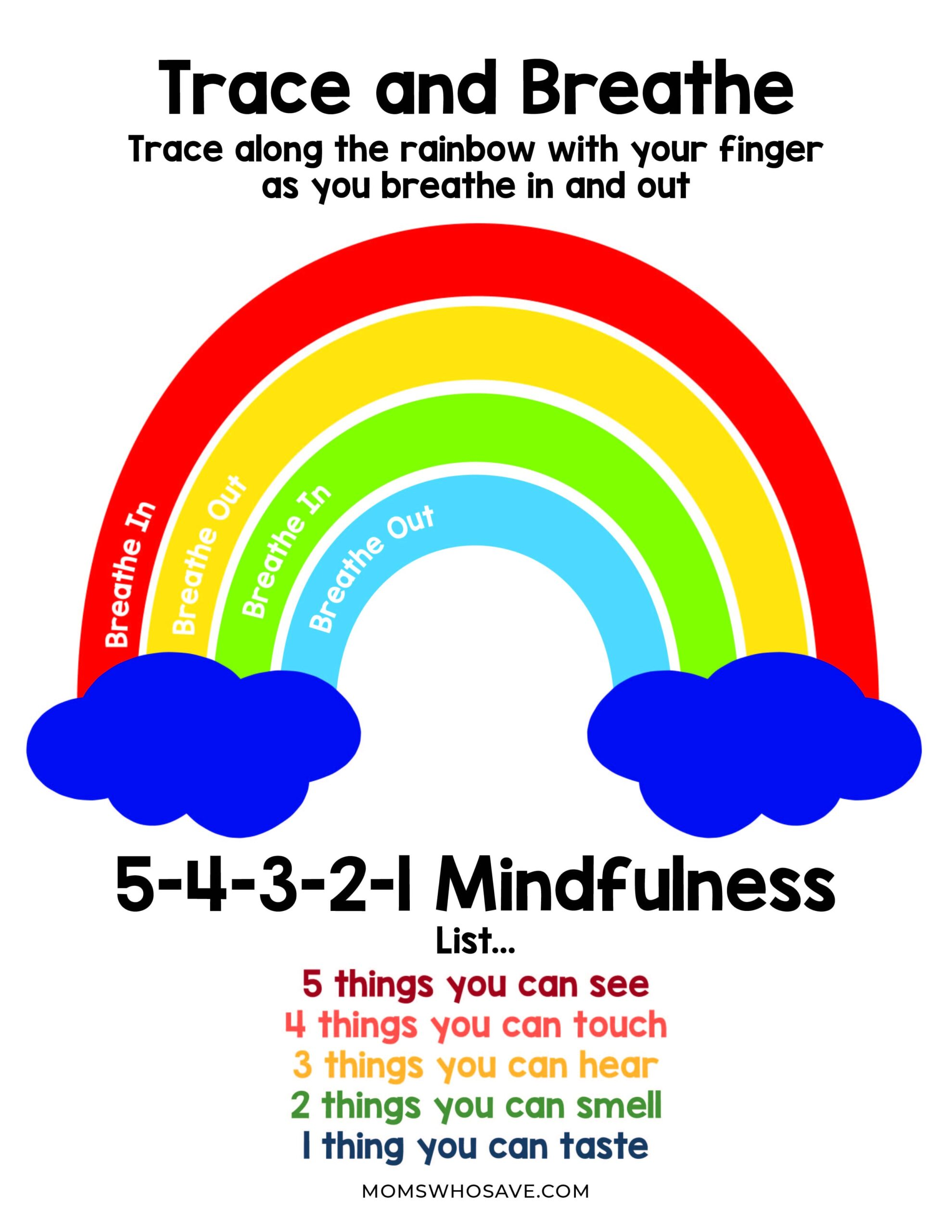 Mindful breathing for kids