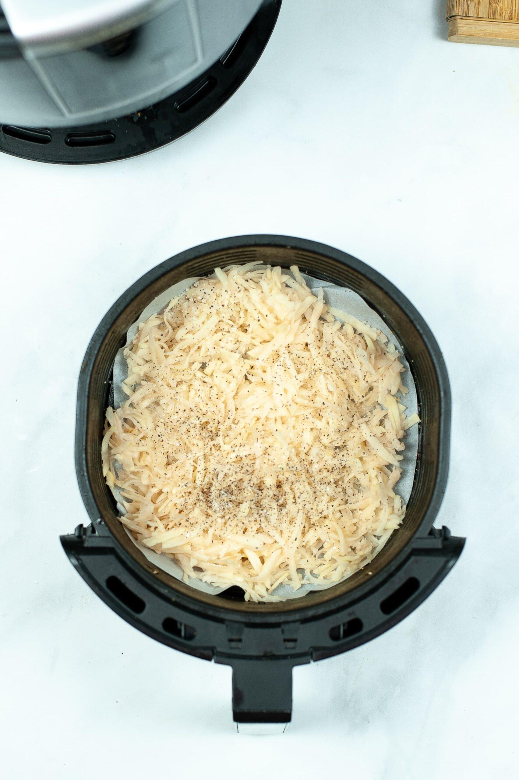 hash browns in air fryer