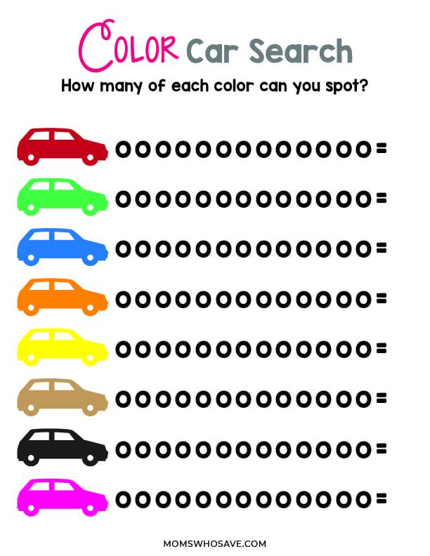 color car search