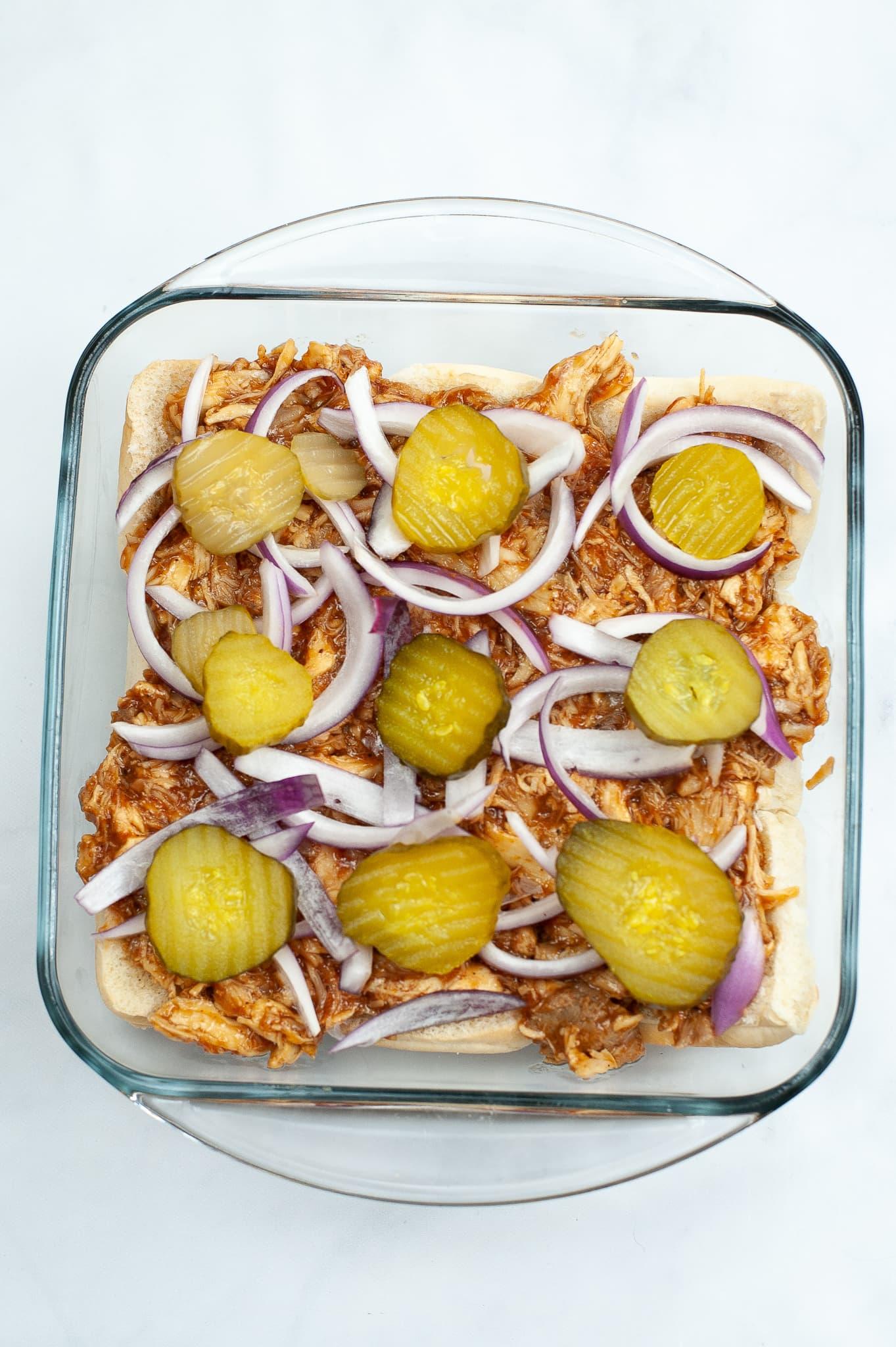 Barbeque Chicken Sliders
