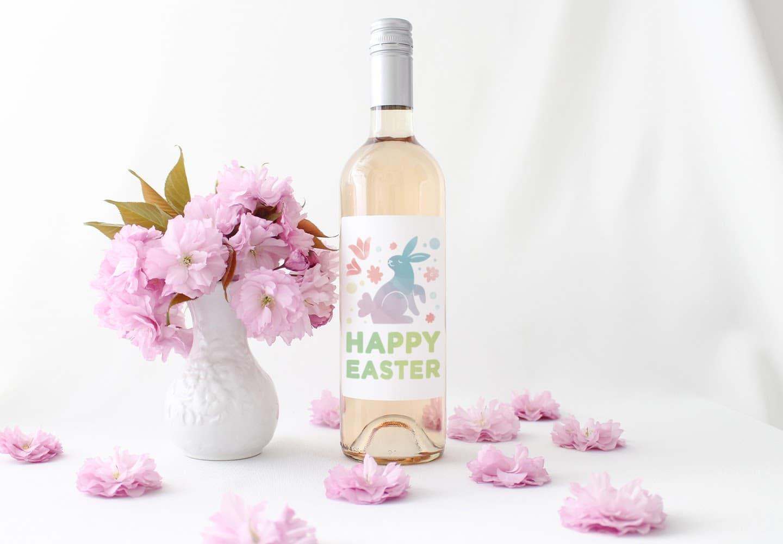 Easter wine labels