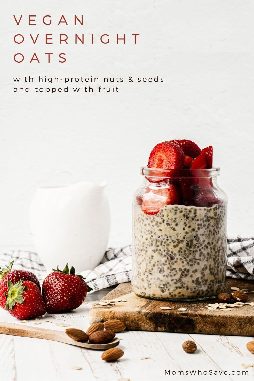 plant based overnight oats
