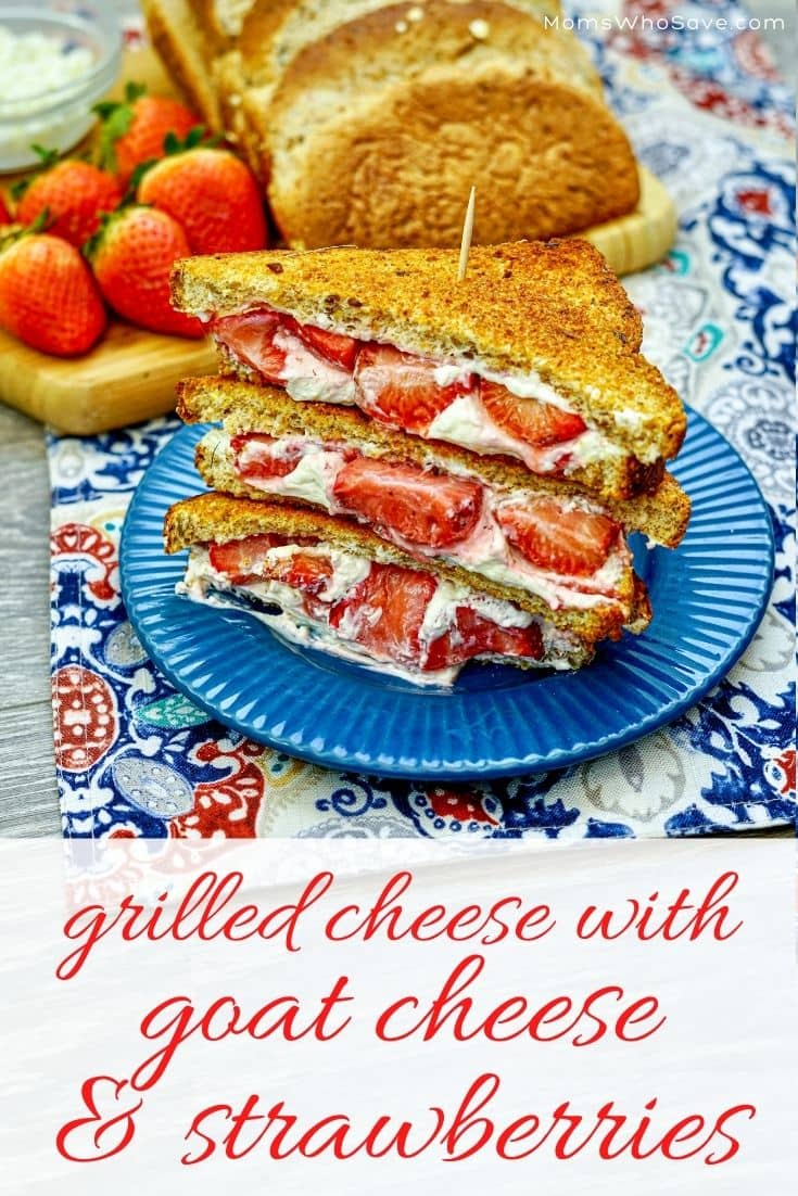 grilled cheese with goat cheese
