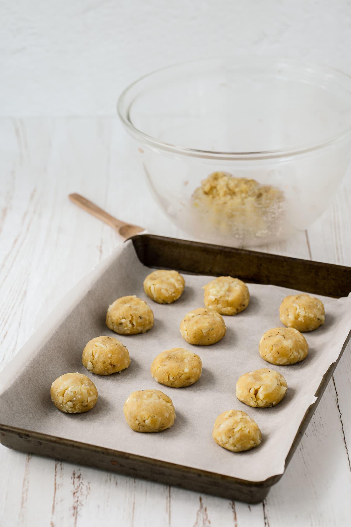 almond flour buns