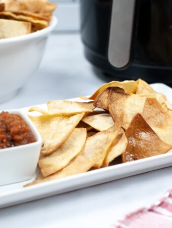 Easy Air Fryer Tortilla Chips