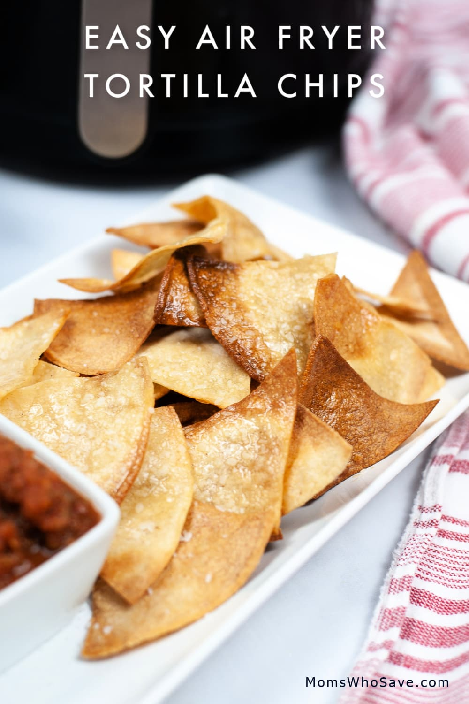 air fyer tortilla chips