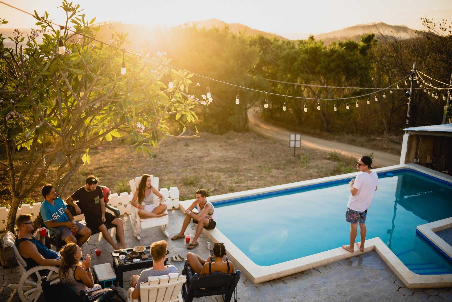 hosting a barbeque party