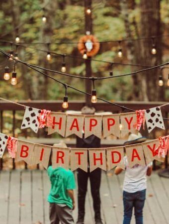 creative ways to invite people to a birthday party