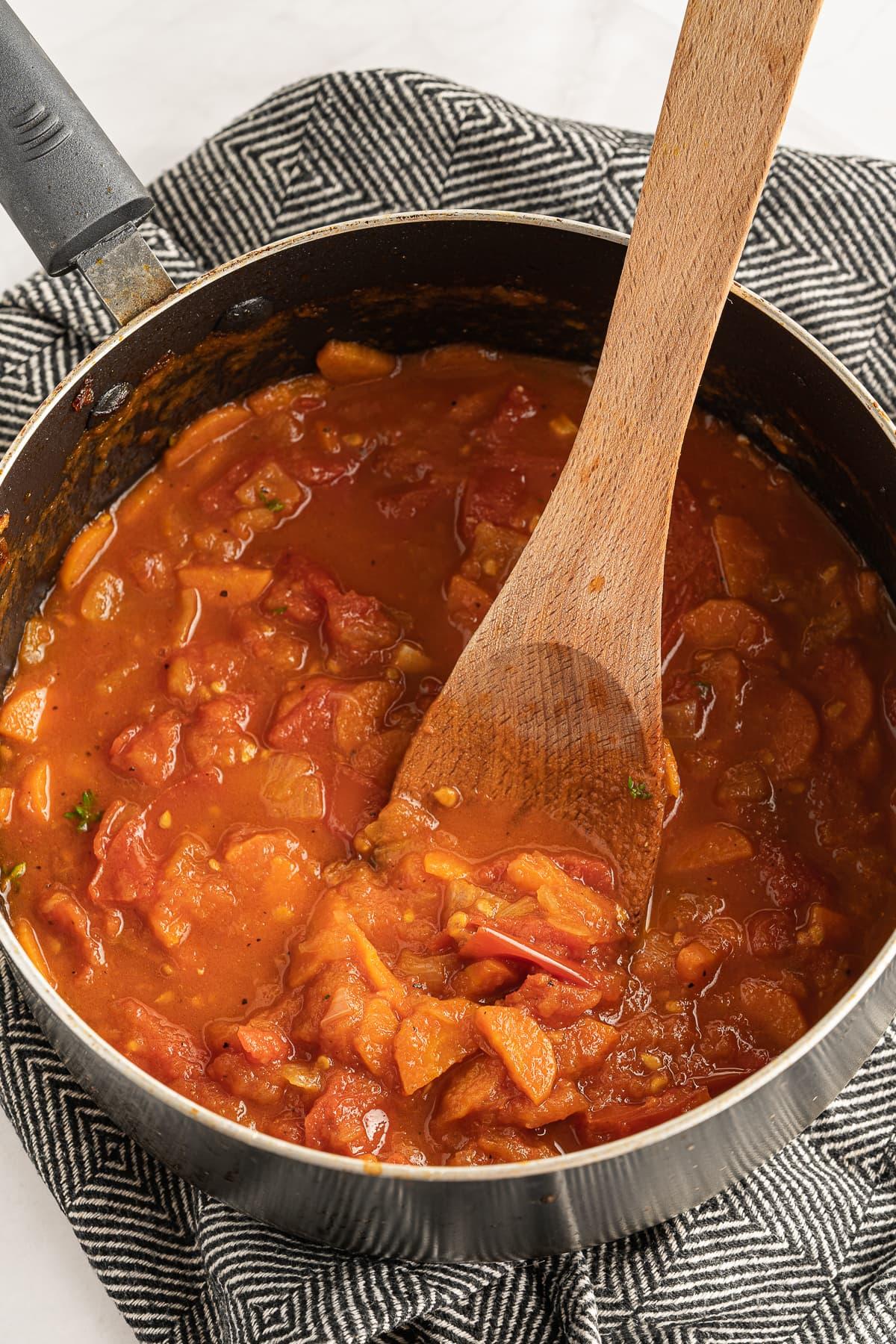 Gluten free tomato basil soup