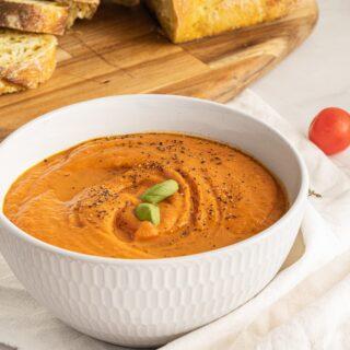 Creamy & Delicious Dairy-Free Gluten-Free Tomato Soup