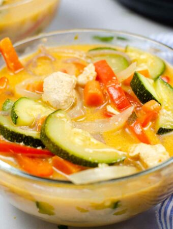 Instant Pot Thai Red Curry Chicken